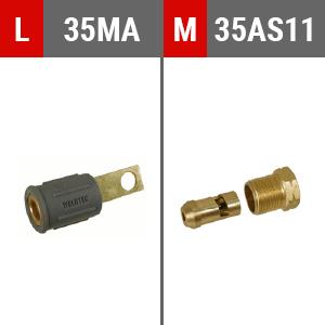 Connecteur L M